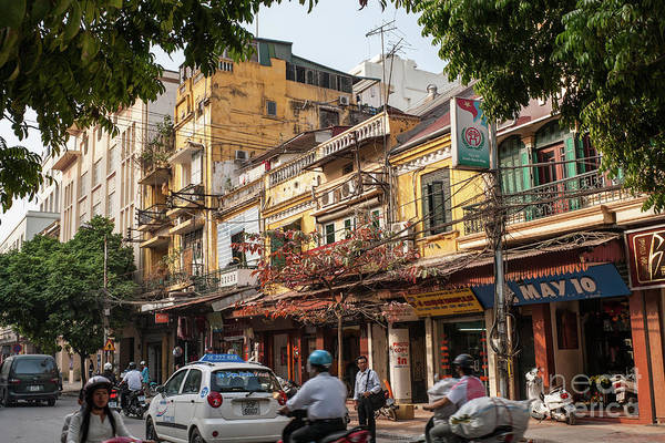 Photograph - Hanoi Shophouses 12  by Rick Piper Photography