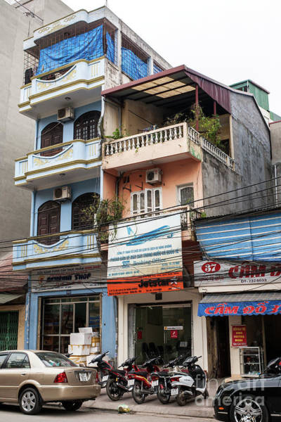 Photograph - Hanoi Shophouses 13  by Rick Piper Photography