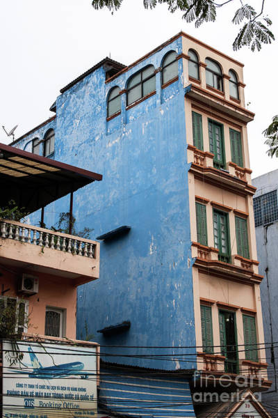 Photograph - Hanoi Shophouses 14  by Rick Piper Photography