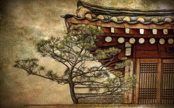 Photograph - Hanok And Pine by Cameron Wood