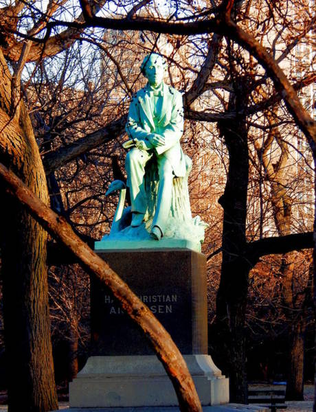 Photograph - Hans Christian Andersen by Wild Thing