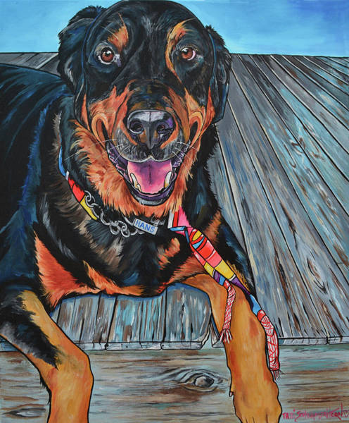 Painting - Hans by Patti Schermerhorn