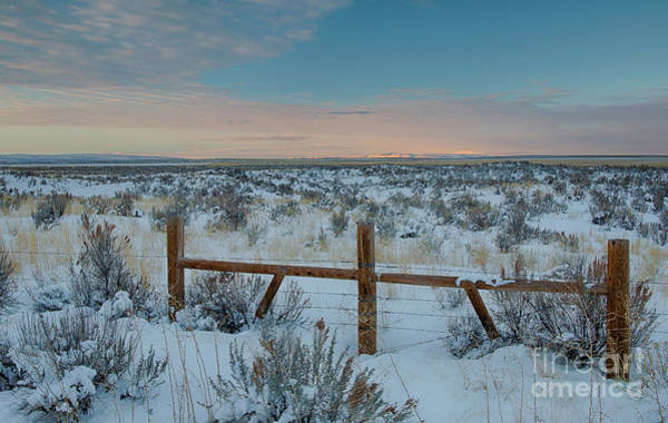 Wall Art - Photograph - Hansen Winter Dawn by Idaho Scenic Images Linda Lantzy