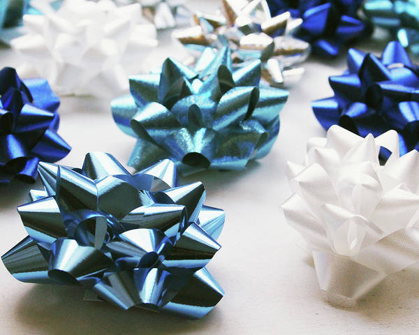 Wall Art - Photograph - Hanukkah Bows- Photography By Linda Woods by Linda Woods