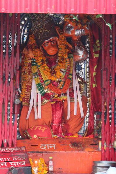 Wall Art - Photograph - Hanuman Ji, Haridwar by Jennifer Mazzucco