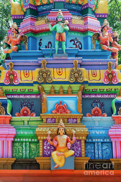 Wall Art - Photograph - Hanuman Temple by Tim Gainey