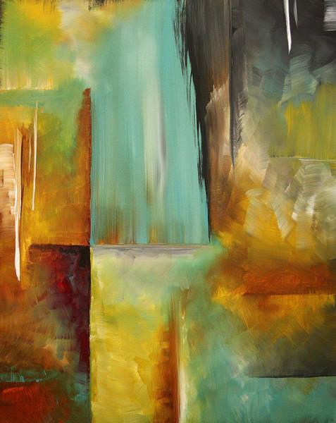 Upbeat Painting - Haphazardous By Madart by Megan Duncanson