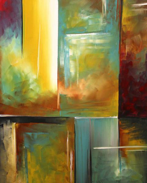 Upbeat Painting - Haphazardous II By Madart by Megan Duncanson