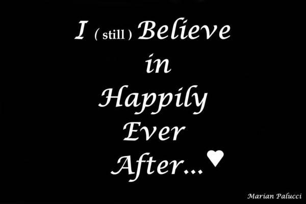 Digital Art - Happily Ever After by Marian Palucci-Lonzetta