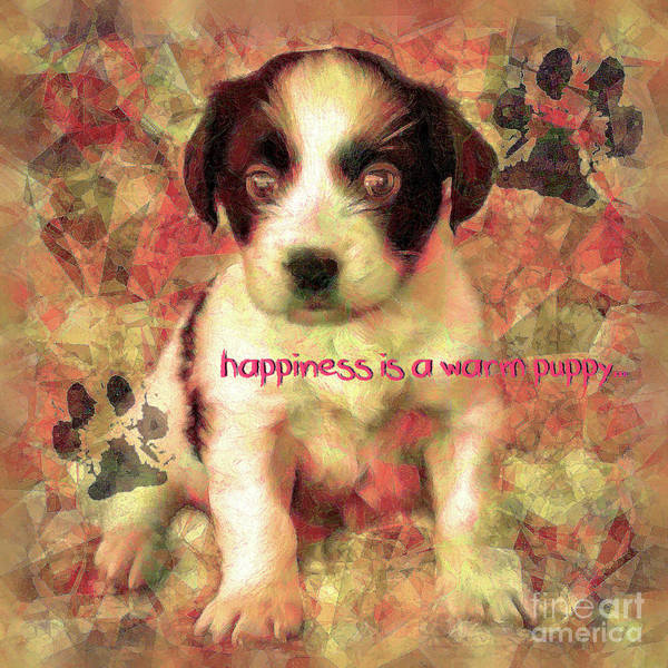 Digital Art - Happiness 2016 by Kathryn Strick