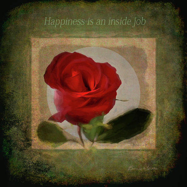 Digital Art - Happiness Is by Bonnie Willis