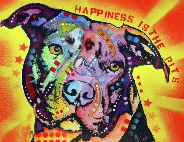 Wall Art - Painting - Happiness Is The Pits Sunray by Dean Russo Art