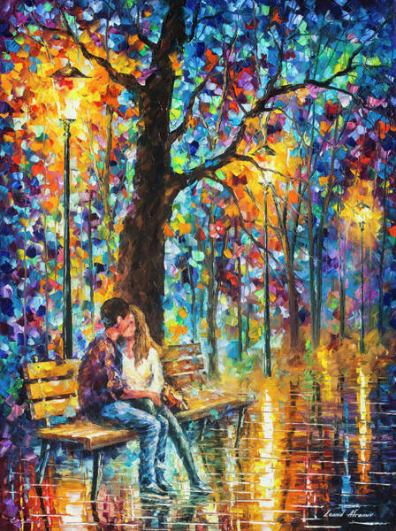 Wall Art - Painting - Happiness   by Leonid Afremov