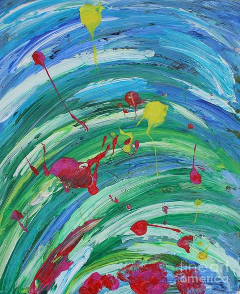 Painting - Happiness by Sarahleah Hankes