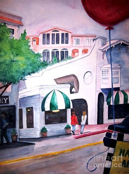 Sausalito Painting - Happy Art by Andreia Medlin