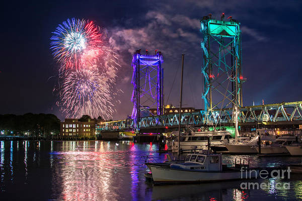 Portsmouth Wall Art - Photograph - Happy Birthday America 2015 by Scott Thorp