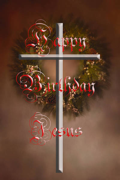 Photograph - Happy Birthday Jesus by Judy Hall-Folde