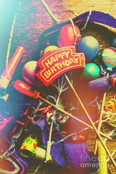 Carnival Photograph - Happy Birthday by Jorgo Photography - Wall Art Gallery