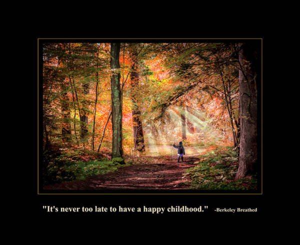 Wall Art - Digital Art - Happy Childhood by Rick Mosher