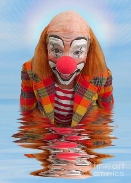 Happy Clown A173323 5x7 Art Print