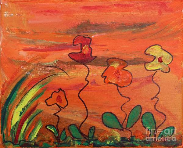 Painting - Happy Day by Sarahleah Hankes