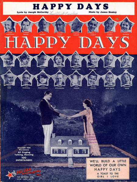 Revue Photograph - Happy Days by Mel Thompson