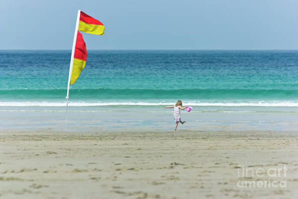 Sennen Cove Photograph - Happy Days by Terri Waters