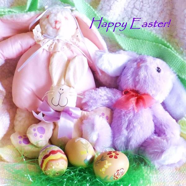 Photograph - Happy Easter by Denise F Fulmer