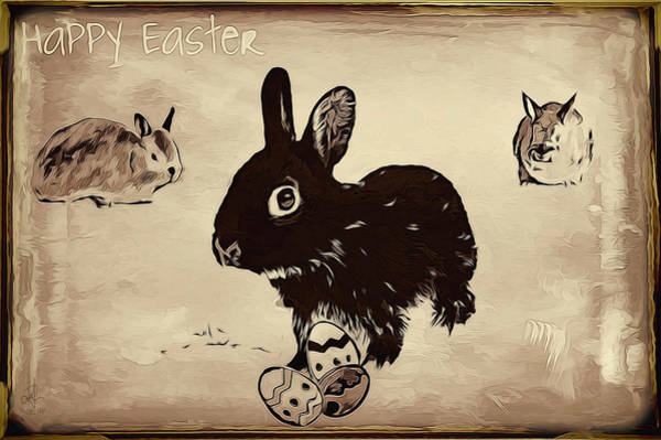 Digital Art - Happy Easter by Pennie McCracken