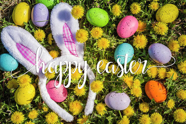 Photograph - Happy Easter by Teri Virbickis
