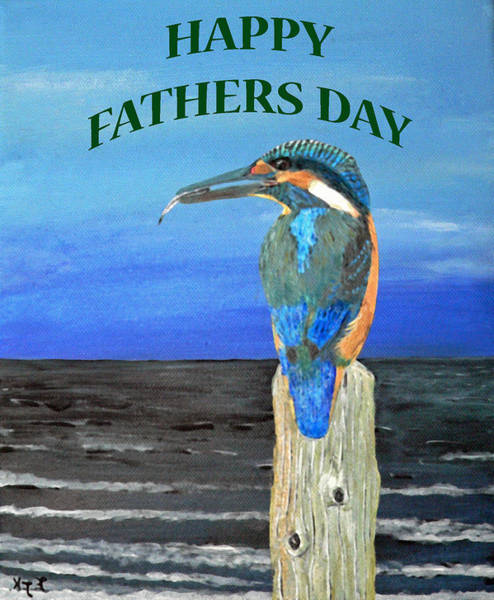 Painting - Happy Fathers Day by Eric Kempson