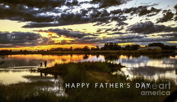 Wall Art - Photograph - Happy Father's Day by Robert Bales