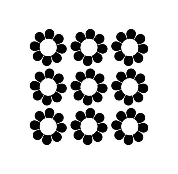 Digital Art - Happy Flower Group  by Donna Mibus