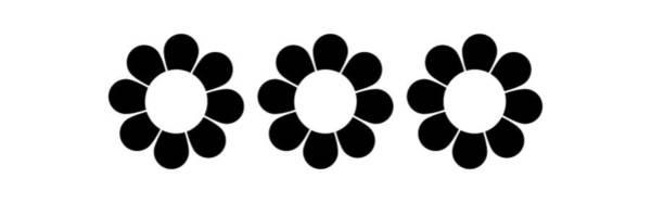 Digital Art - Happy Flower Trio  by Donna Mibus