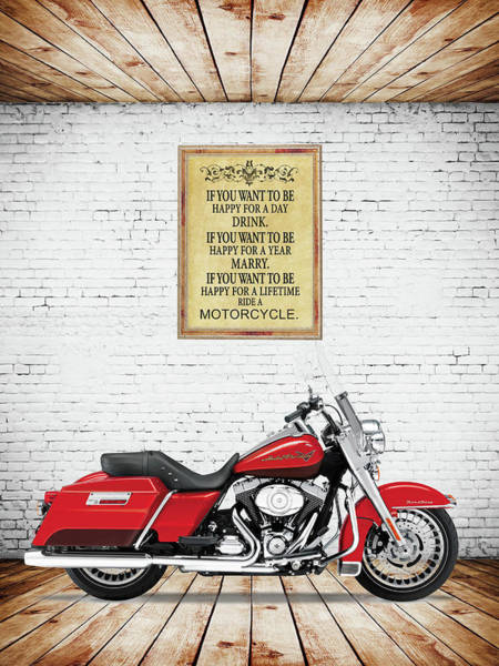 Harley-davidson Photograph - Happy For A Lifetime by Mark Rogan