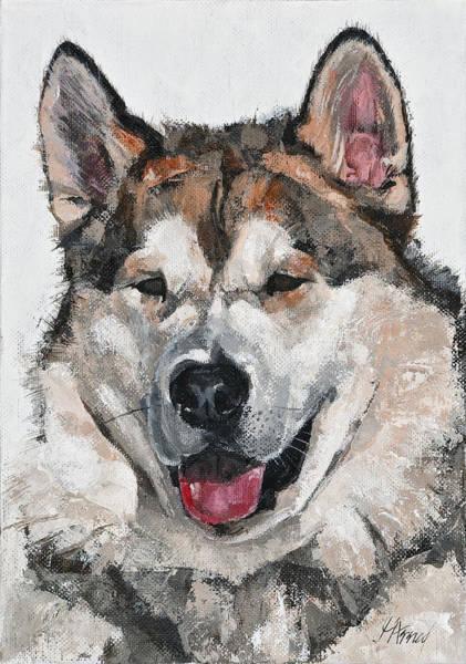 Painting - Happy Friend by Maria Arnaudova