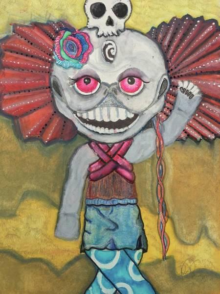Primary Colors Mixed Media - Happy Girl by Regina Jeffers
