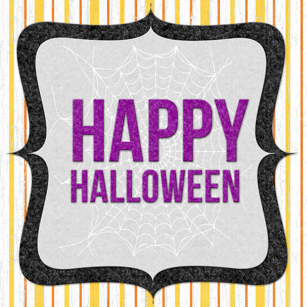 Candy Wall Art - Mixed Media - Happy Halloween-art By Linda Woods by Linda Woods