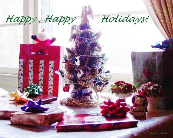 Photograph - Happy Happy Holidays by Denise F Fulmer