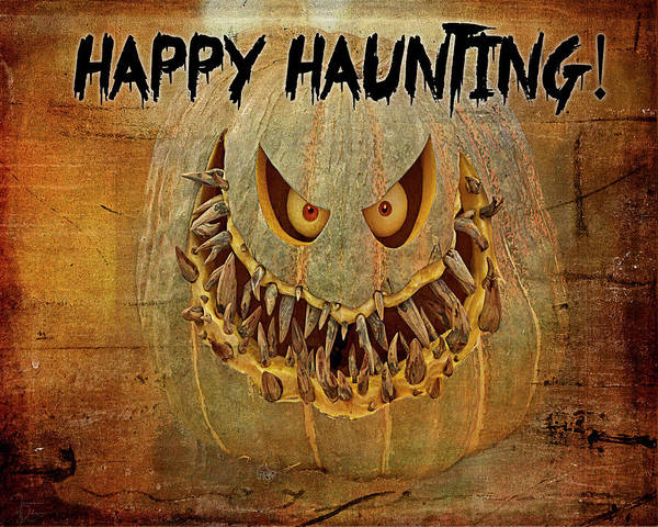 Photograph - Happy Haunting by Teresa Wilson