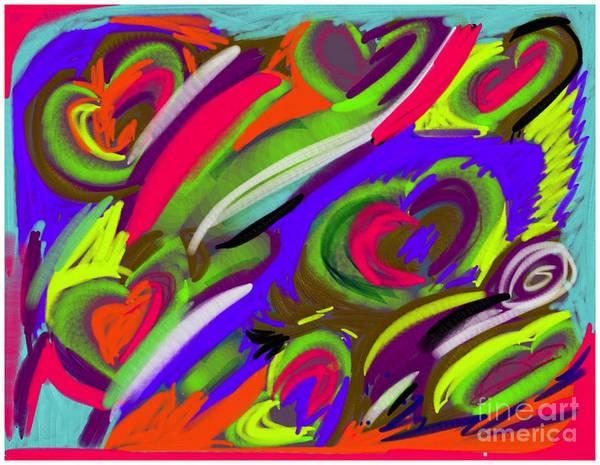 Digital Art - Happy Heart by Barefoot Bodeez Art