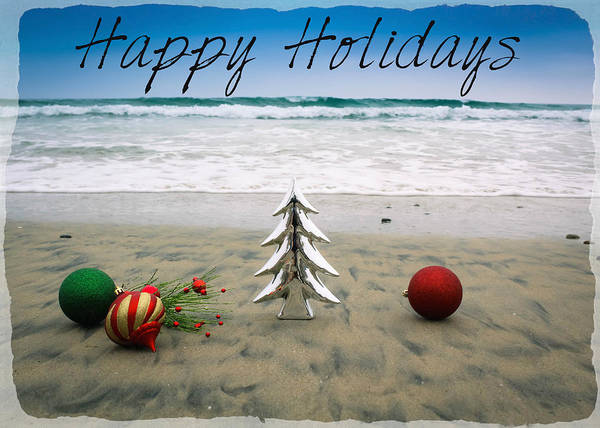 Photograph - Happy Holidays by Alison Frank