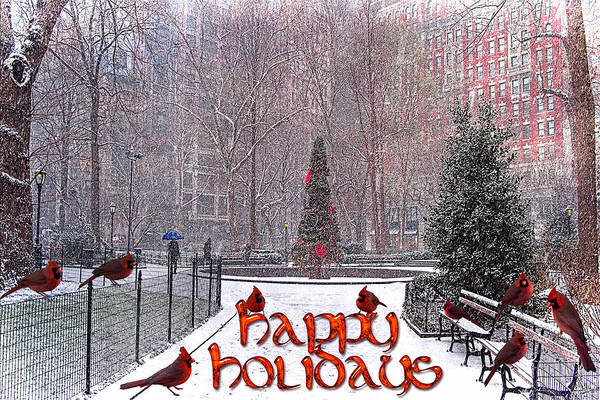 Photograph - Happy Holidays by Chris Lord