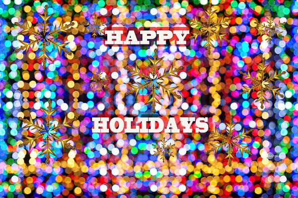 Digital Art - Happy Holidays by Ericamaxine Price