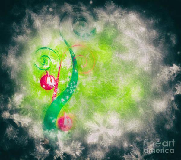 Bauble Digital Art - Happy Holidays by Ezeepics