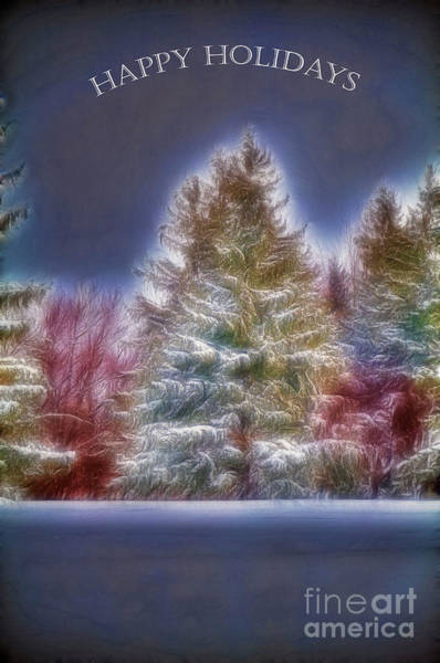 Photograph - Happy Holidays by Jim Lepard