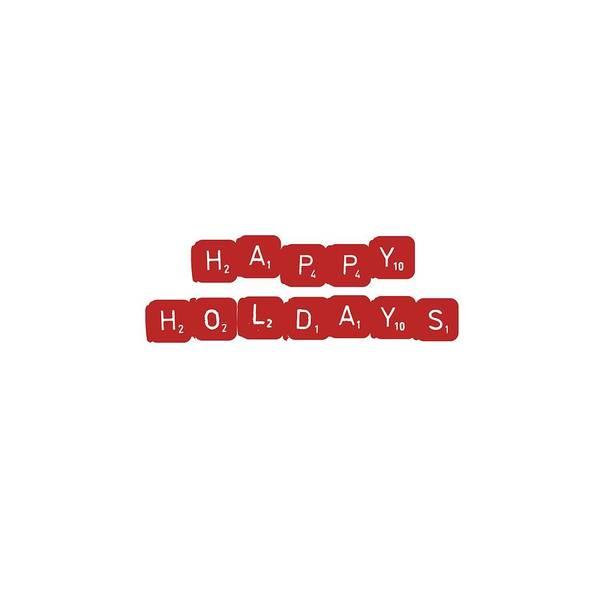 Christmas Gift Digital Art - Happy Holidays by Rosemary Nagorner
