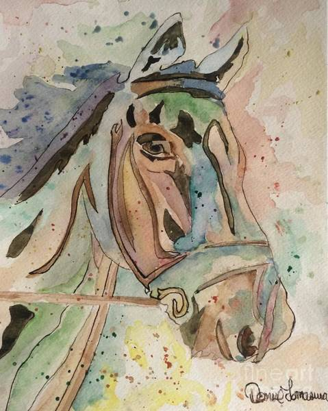 Painting - Happy Horse by Denise Tomasura