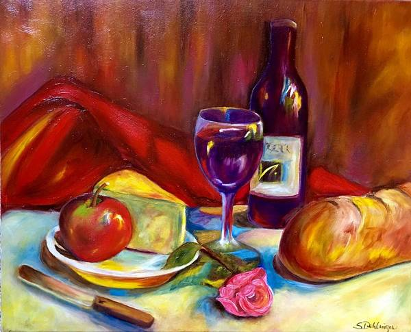 Painting - Happy Hour Love by Susan Dehlinger