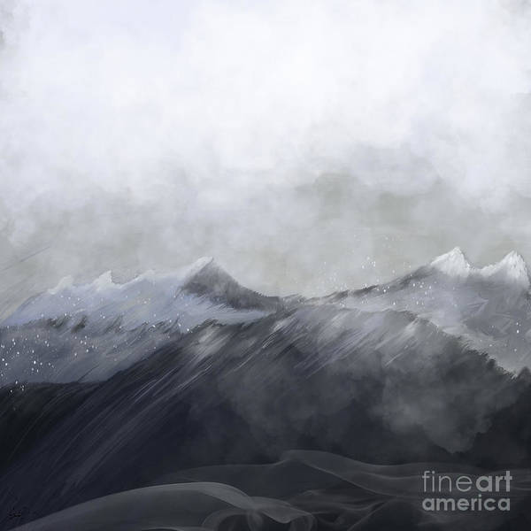 Dreamy Wall Art - Painting - Happy In The Mountains by Bri Buckley